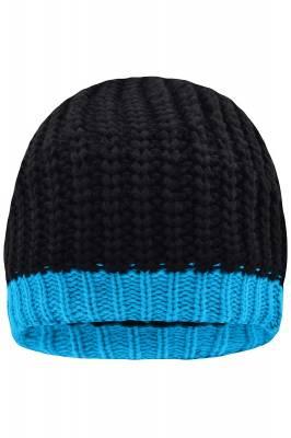 Wintersport Strickmütze Beryl-blau-one size-unisex