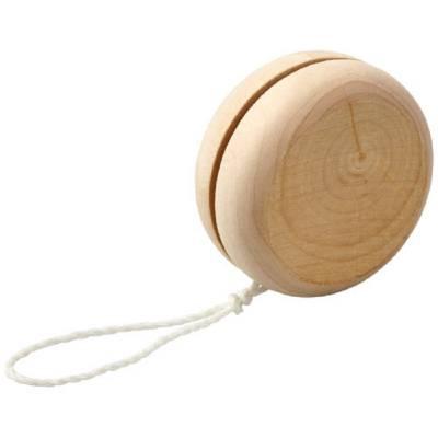Woody Jo-Jo aus Holz-naturfarben