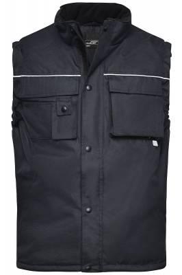 Workwear Weste JN813-schwarz-S