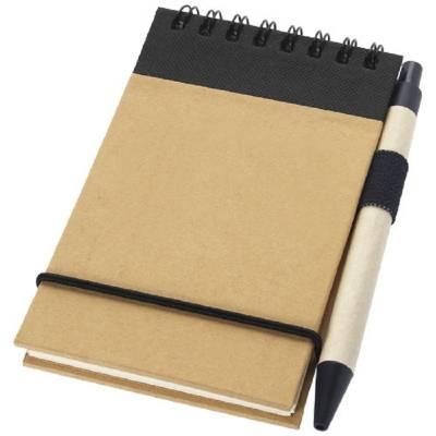 Zuse Notizbuch mit Stift-schwarz
