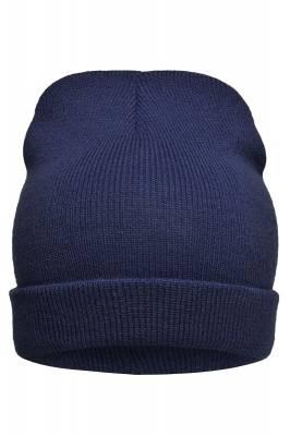 leichte Promotion Beanie Bill-blau(navyblau)-one size-unisex