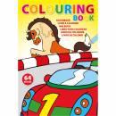 Kinder Malbuch Tom aus Papier-mehrfarbig
