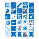Pussycat Geduldspiel-Set Multiplex - transparent blau
