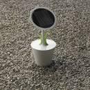 Solarladegerät Pforzheim Solarblume - weiß