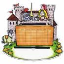 Stundenplan Märchenschloss - mehrfarbig