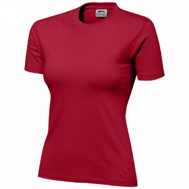 b30f8294871a87 Damen Ace T-Shirt 150 - dunkelrot - L als Werbeartikel mit Logo ...