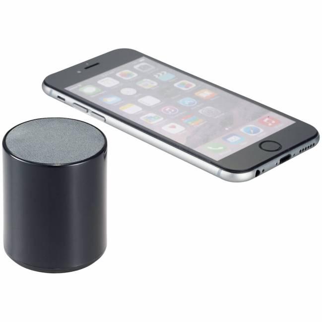 ditty bluetooth lautsprecher schwarz als werbeartikel mit logo bedrucken fp13420800. Black Bedroom Furniture Sets. Home Design Ideas