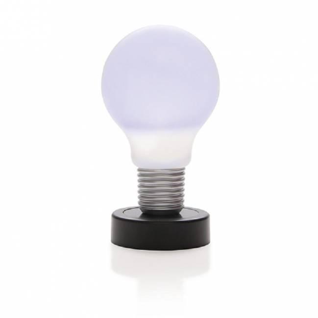 drucklampe gl hbirne schwarz als werbeartikel mit logo bedrucken. Black Bedroom Furniture Sets. Home Design Ideas