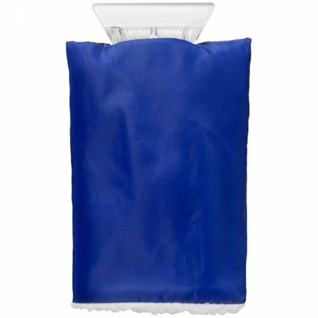 eiskratzer mit handschuh blau als werbeartikel mit logo. Black Bedroom Furniture Sets. Home Design Ideas