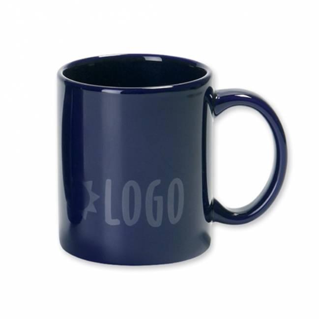 hannah tasse mit untertasse braun als werbemittel mit logo bedrucken er04347 51. Black Bedroom Furniture Sets. Home Design Ideas