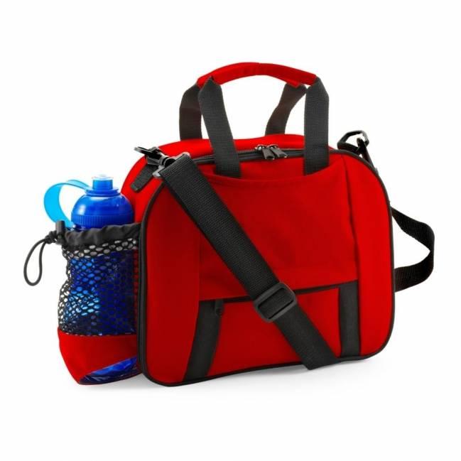 k hltasche mit flaschenfach ohne flasche rot als werbeartikel bedrucken v6383 05. Black Bedroom Furniture Sets. Home Design Ideas