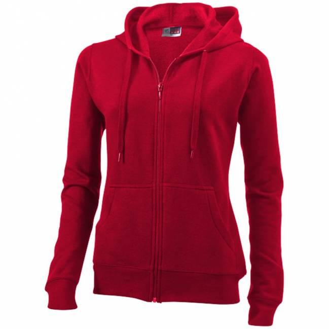 utah damen sweater mit kapuze rot xs als werbeartikel mit logo. Black Bedroom Furniture Sets. Home Design Ideas