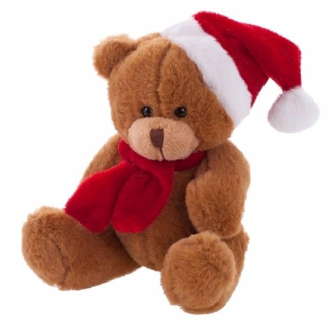 weihnachts teddyb r charlie braun als werbeartikel mit. Black Bedroom Furniture Sets. Home Design Ideas