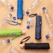 21 Zoll RPET Schirm mit automatischer Öffnung und Schließung-schwarz