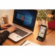5W Wireless Charging Stiftehalter Dohna-schwarz