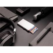 Aluminium RFID Kartenhalter-silber