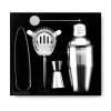 Cocktailshaker-Set Abruzzen in Box-silber-