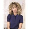 Damen Graphite Poloshirt aus GOTS Bio-Material-rot-M