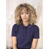 Damen Graphite Poloshirt aus GOTS Bio-Material-weiß-XS