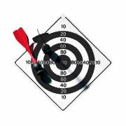 Dartspiel Vacuum ohne Zielscheibendruck