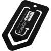 Duko Jumbo-Büroklammer aus Kunststoff-schwarz