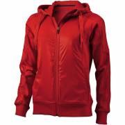 Fraser Damen-Pullover mit Kapuze und durchgehendem Reißversc