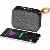 Fashion Stoff Bluetooth-Lautsprecher-grau