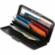 Geldbörse Kreditkartenhalter mit Kosmetikspiegel