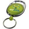Gerlos Schlüsselanhänger mit Rollerclip-grün(limettgrün)