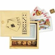 Karten- und Würfelspiel Köln in Holzbox