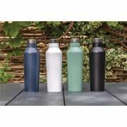 Moderne Vakuum-Flasche Friesack aus Stainless Steel-schwarz