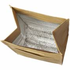 Paper Bag Kühltasche-braun