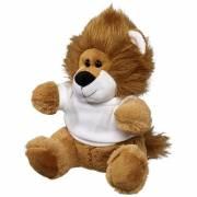 Plüschtier Löwe mit T-Shirt