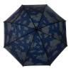 Regenschirm Mailand mit Doppelbespannung-blau-