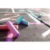 Straßenkreide 6-farbig-transparent