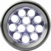 LED-Taschenlampe Frankfurt in Box-silber