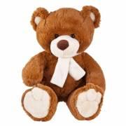 Teddybär mit Schal, bedruckbar