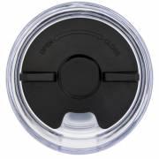 Twist vakkumisolierter, auslaufsicherer Kupferbecher-schwarz