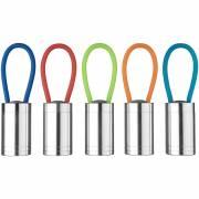 Vela 6-LED-Taschenlampe mit Leuchtband-blau(royalblau)