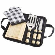 West 5 teiliges BBQ Set