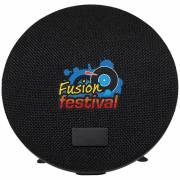 Wool Bluetooth® Lautsprecher mit Stoffbezug-schwarz