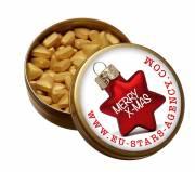 XS-Taschendose mit Pfefferminz Gold- oder Silbernuggets