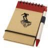 Zuse Notizbuch mit Stift-rot