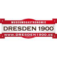 Logo der Dresden 1900 Museumsgastronomie